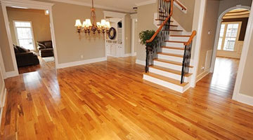 clean oiled hardwood